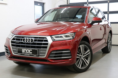 Audi Q5 2,0 TDI quattro sport S-tronic 3x S Line/Panorama/LED/Navi/AHK/Teilleder/uvm bei Auto ROC GmbH in Spittal an der Drau