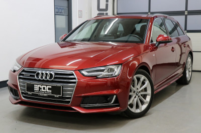Audi A4 Avant 2,0 TDI quattro Sport S-tronic 2x Sline/LED/Navi+/AHK/Virtual/Werksgarantie>2022 bei Auto ROC GmbH in Spittal an der Drau