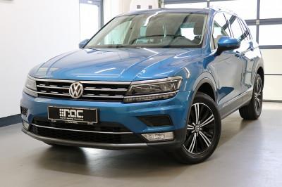 VW Tiguan 2,0 TDI SCR 4Motion Highline DSG DigitalTacho/LED/Kamera/AHK/uvm bei Auto ROC GmbH in Spittal an der Drau