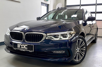 BMW 520d xDrive Touring Aut. Sport/LED/Panorama/Memory/Leder/Navi/Kamera/uvm bei Auto ROC GmbH in Spittal an der Drau